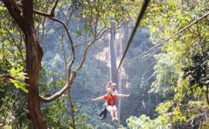 Mae Rim Attraction - Eagle Track Zipline
