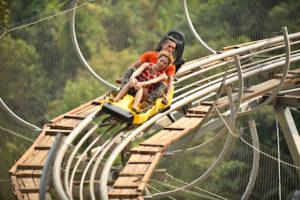 Mae Rim Attraction - Pongyang Jungle Coaster & Zipline